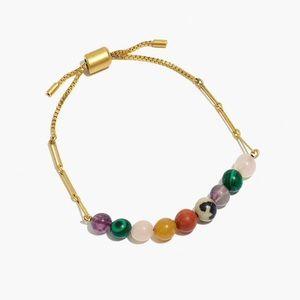 Madewell Semi precious stone beaded bracelet